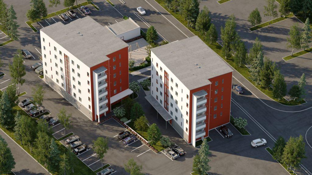 Toivo Groupille valmistuu Järvenpäähän 79 asunnon kerrostalokokonaisuus keväällä 2021